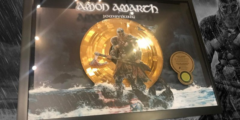 """Amon Amarth celebrate """"Week of Gold"""", earns Gold certification in Germany for 2016's 'Jomsviking'; launches video for """"Fafner's Gold"""""""