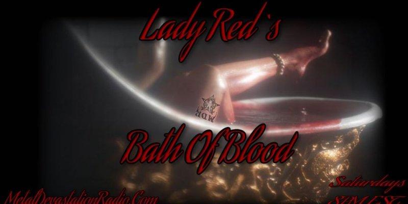 Lady Reds Bath of blood  Debut Show tonight 8pm est