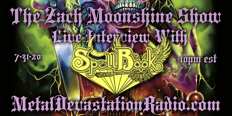 Spellbook - Live Interview - The Zach Moonshine Show