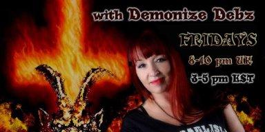 Double Rocks with Demonize Debz  8-10pm UK /3-5EST