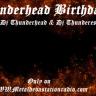 Thunderheads Birthday Bash Show Today 5pm est