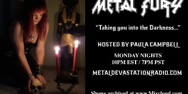 Metal Fury Show - Black Metal Flame