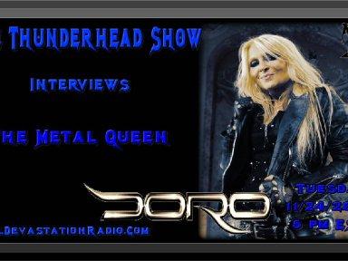 Thunderhead Show Interviews The Metal Queen Doro Pesch