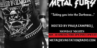 Metal Fury Show - December New Releases!