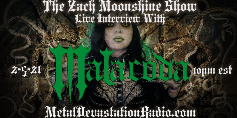 Malacoda - Live Interview - The Zach Moonshine Show