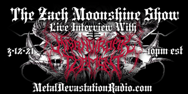 Misanthropik Torment - Live Interview - The Zach Moonshine Show