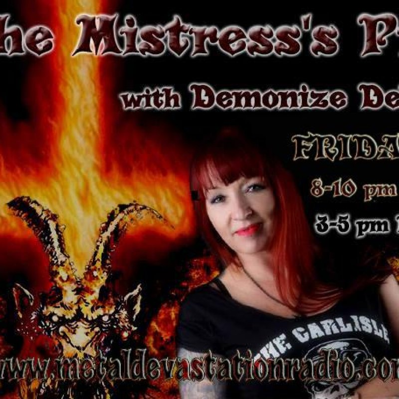 DUTCH METAL with Demonize Debz  - 8-10pm UK /3-5EST