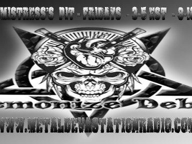 Demonize Debz on Metal Devastation Radio  - 3-5 EST/ 8-10pm UK