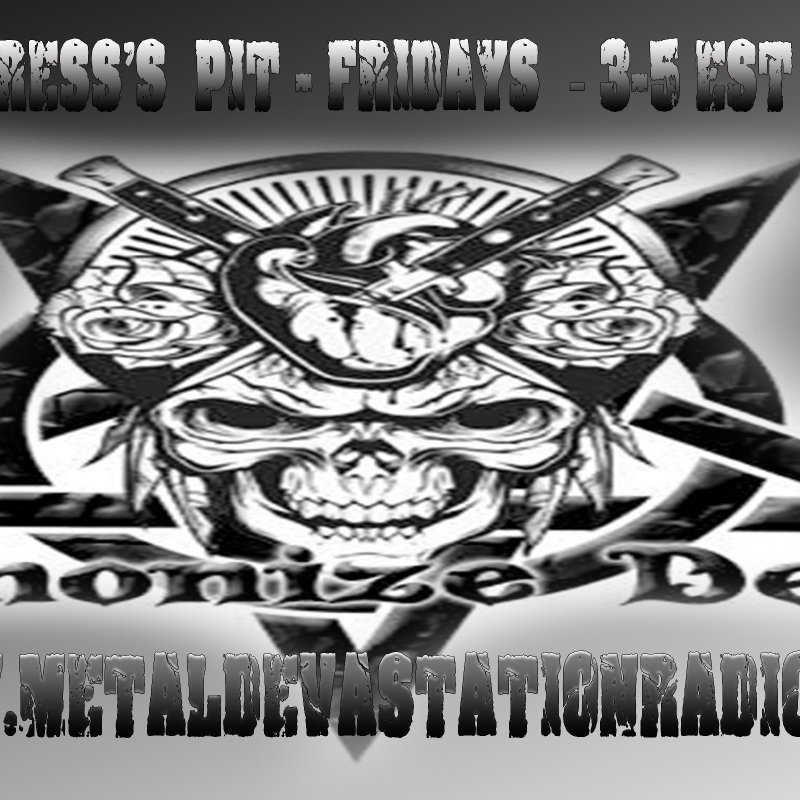 Demonize Debz on Metal Devastation Radio  - 3-5 EST/ 8-10pm UK
