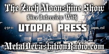 Utopia Press - Live Interview - The Zach Moonshine Show