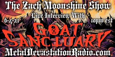 Goat Sanctuary - Live Interview - The Zach Moonshine Show