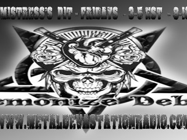 Metal Fridays with Demonize Debz - 3-5 EST /8-10UK