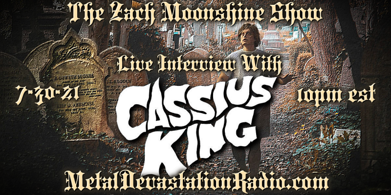 Cassius King - Live Interview - The Zach Moonshine Show