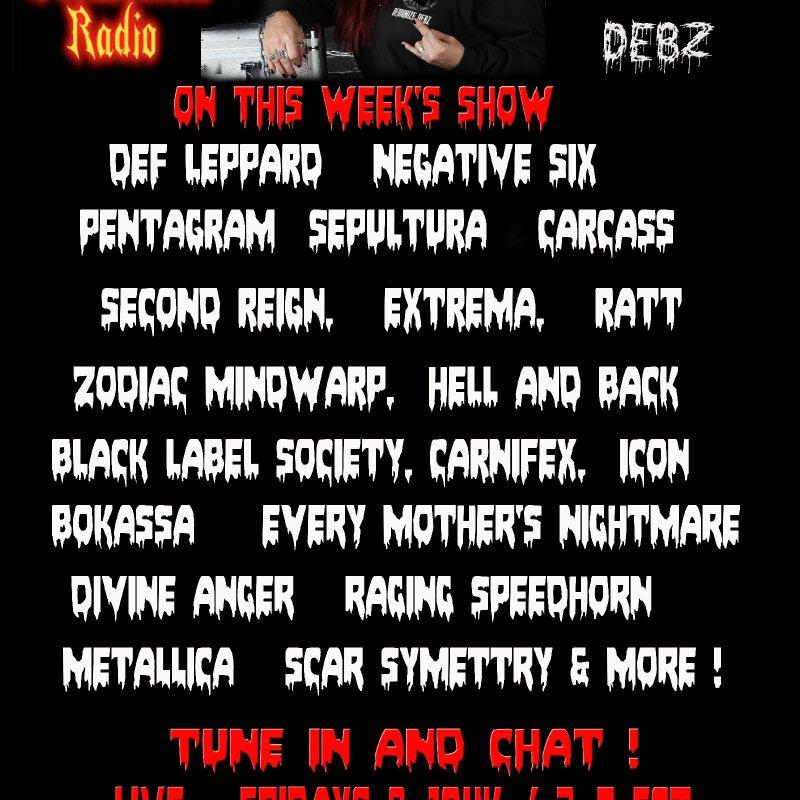 Metal Fridays with Demonize Debz -  2-4 EST /7-9UK