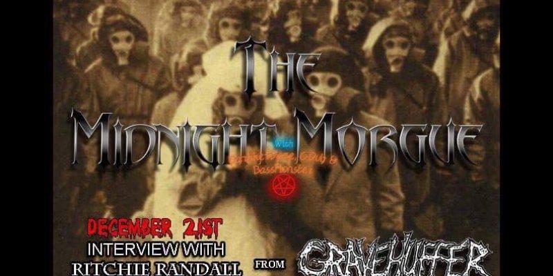 The Midnight Morgue interviews Gravehuffer!