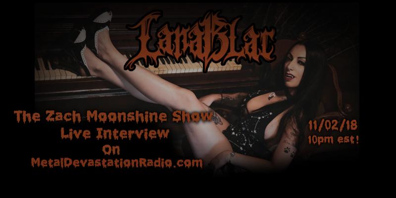 Lana Blac - Live Interview - The Zach Moonshine Show!