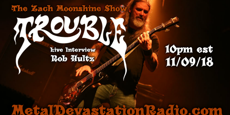 Trouble - Live Interview - The Zach Moonshine Show