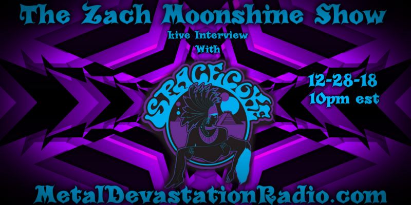 Space Coke - Live Interview - The Zach Moonshine Show