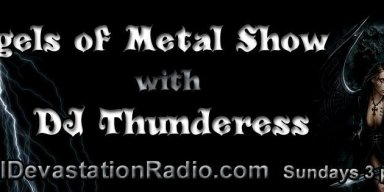 Angels Of Metal show returns 1pm est Today Until 4pm est