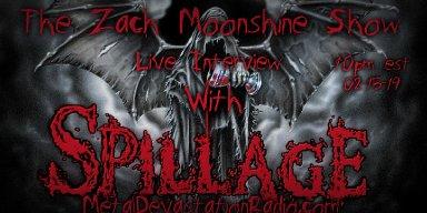 Spillage - Live Interview - The Zach Moonshine Show