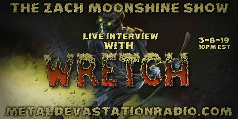 Wretch - Live Interview - The Zach Moonshine Show