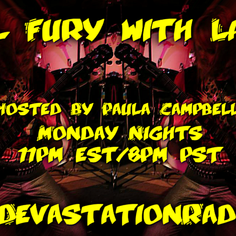 Debut Show on MDR - Metal Fury with Lady P!