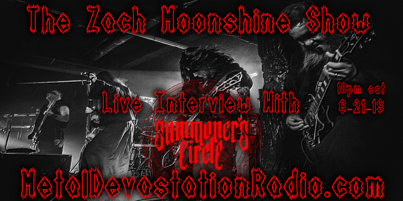 Summoner's Circle - Live Interview - The Zach Moonshine Show