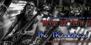 Exclusive Interview With Scott Eames On The Thunderhead show friday Aug 30th 6pm est