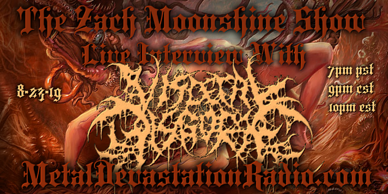 VISCERAL DISGORGE - Live Interview - The Zach Moonshine Show