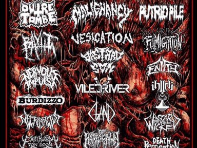 ONTARIO DEATH FEST #7 - PUTRID PILE, Fumigation, A Scar for the Wicked, Entity, + more