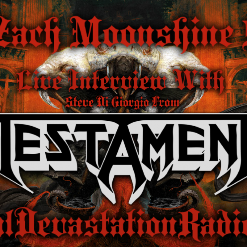 Testament - Live Interview - The Zach Moonshine Show
