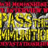 Pass The Ammunition - Live Interview - The Zach Moonshine Show