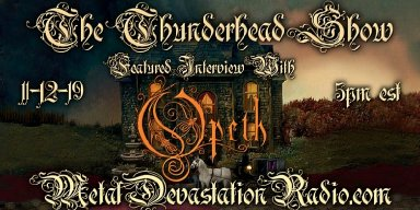 Opeth Exclusive Interview on The Thunderhead Show