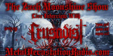 Crusadist - Live Interview - The Zach Moonshine Show