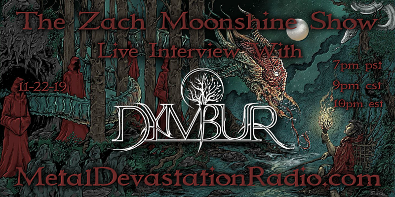 Dymbur - Live Interview - The Zach Moonshine Show