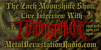 Deadspawn - Live Interview - The Zach Moonshine Show