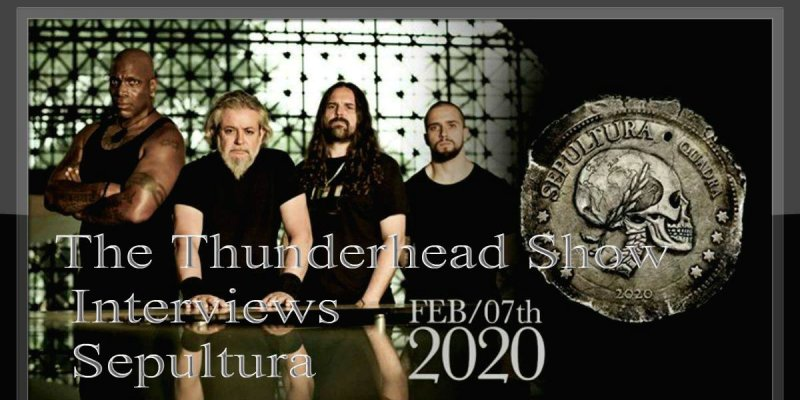 Exclusive Interview With Andreas From Sepultura Feb 7th On The Thunderhead show