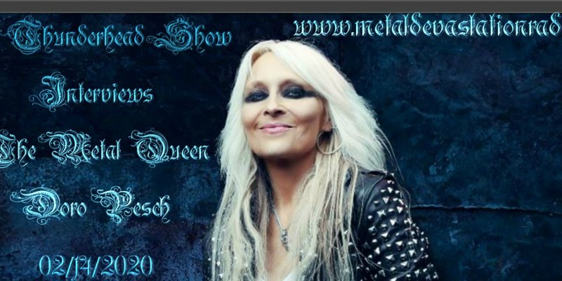 Exclusive Interview With Doro Pesch On The Thunderhead Show