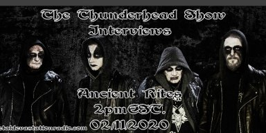 Thunderhead Show Interviews Erik From Band Ancient Rites
