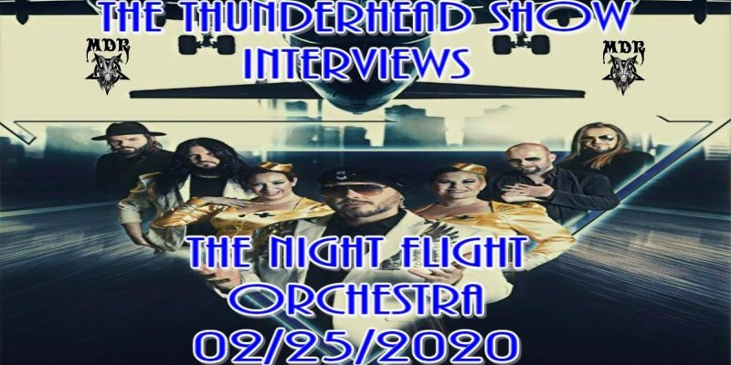 The Thunderhead show Interviews The Night Flight Orchestra