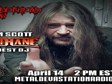 Tim Scott From Band Methane on The Thunderhead show as Guest DJ and also Exclusive interview with Band Valar Morghulis