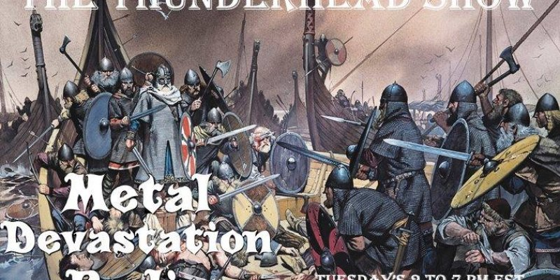 Tonight 4pm est!! The Thunderhead show Viking Metal Special