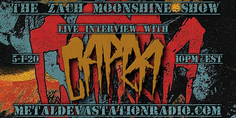 CAPRA - Live Interview - The Zach Moonshine Show