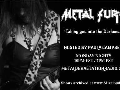 Metal Fury Show New Time - Welcome May New Releases!