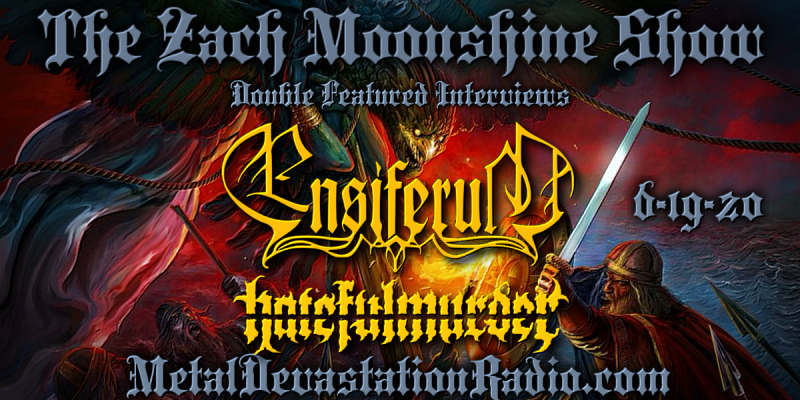 Ensiferum + hatefullmurder - Double Feature - The Zach Moonshine Show