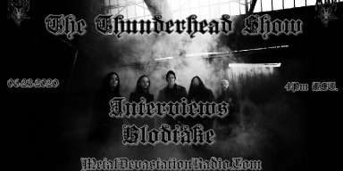 Blodtåke interview On The Thunderhead show Tuesday June 23rd