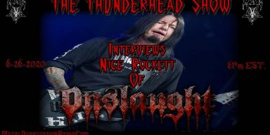 Nige Rockett Joins The Thunderhead show June 26th at 6pm est