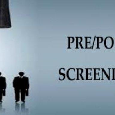 Pre & Post Employment Screening Malaysia