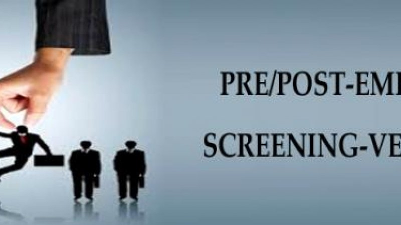 Pre & Post Employment Screening Malaysia