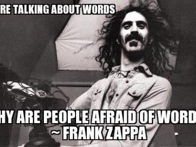 Zappa words